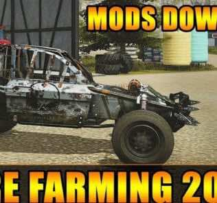 Dying Light Buggy Skins v1.0 Mod for Pure Farming 2018 (PF 2018)