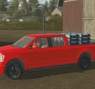 Ford Pickup Mod for Pure Farming 2018 (PF 2018)