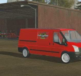 Ford Transit Box Car Mod for Pure Farming 2018 (PF 2018)