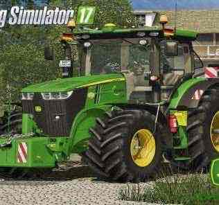 John Deere 7R Series Pack Update V1.0 Mod for Farming Simulator 2017 (FS17)