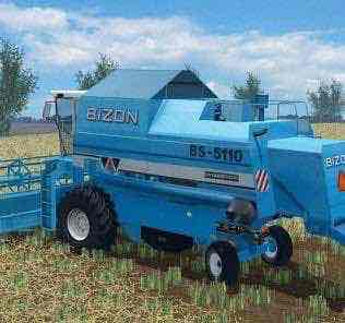 Bizon 5110 Bs Mod for Farming Simulator 15 (FS 15)