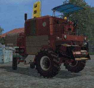 Bizon Z056 Mod for Farming Simulator 15 (FS 15)