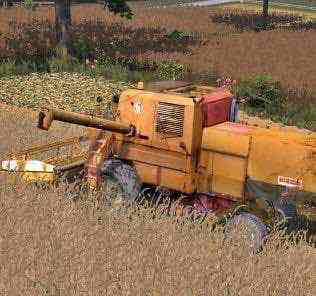 Bizon Z056 Super V1 Mod for Farming Simulator 15 (FS 15)