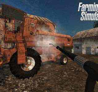 Bizon Zo56 Red With Cabine V 2.0 Combine Mod for Farming Simulator 15 (FS 15)