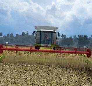 Claas Lexion 580/600 V 1.6 Combine Mod for Farming Simulator 15 (FS 15)