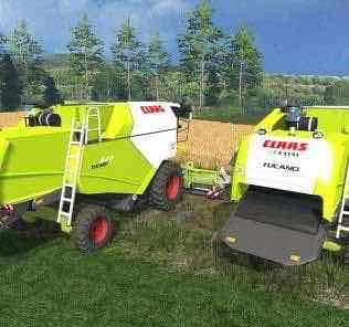 Claas Tucano 440 V1.0 Mod for Farming Simulator 15 (FS 15)