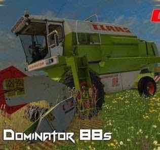 Class Dominator 88S V1.0 Mod for Farming Simulator 15 (FS 15)