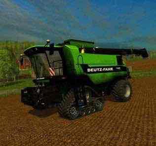 Deutz Fahr 7545 V1.0 Combine Mod for Farming Simulator 15 (FS 15)
