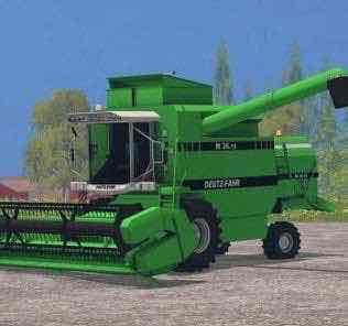 Deutz Fahr M 36.10 Green Mod Mod for Farming Simulator 15 (FS 15)