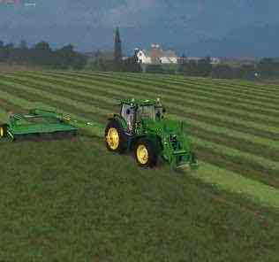 Jd 7R Loader With Duals V1 Tractor Mod for Farming Simulator 15 (FS 15)