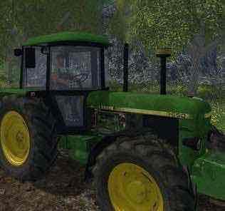 John Deere 3650 V 1.0 Tractor Mod for Farming Simulator 15 (FS 15)
