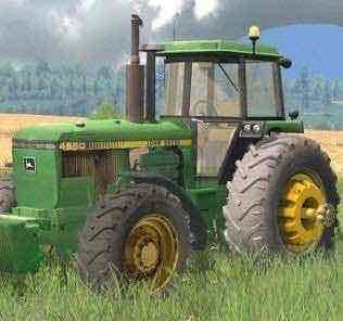 John Deere 4650 V 2.0 Mod for Farming Simulator 15 (FS 15)