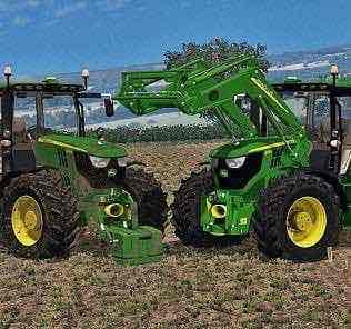 John Deere 6170R Fixed Mod for Farming Simulator 15 (FS 15)