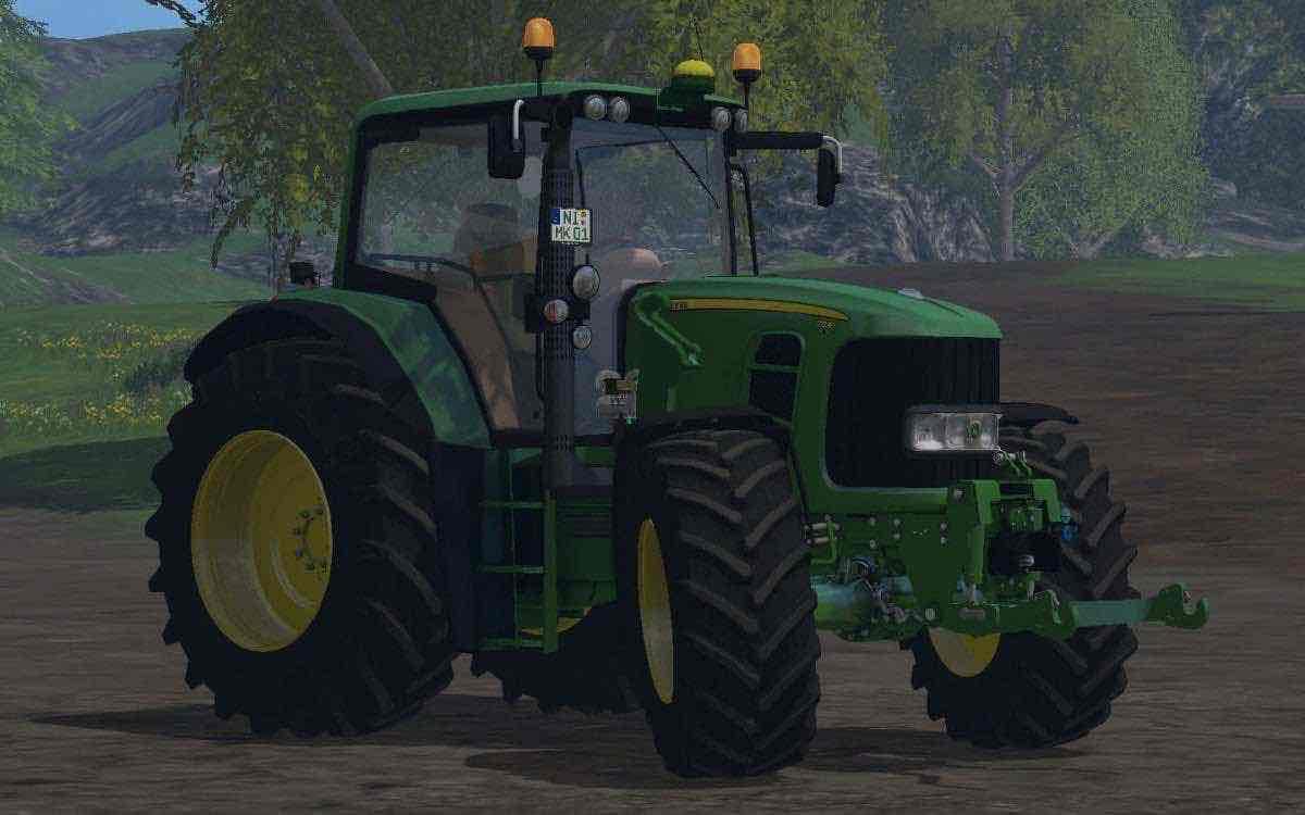 john deere 7530 premium v21 mod for farming simulator 15