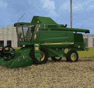 John Deere Combine Wts9640 Mod for Farming Simulator 15 (FS 15)