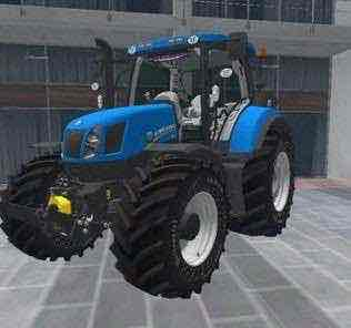 New Holland T6 Mod for Farming Simulator 15 (FS 15)
