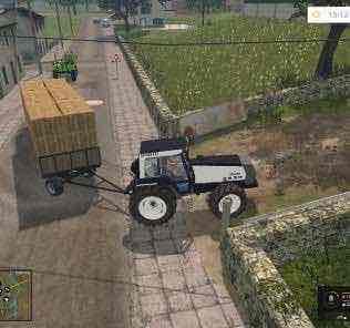 Valtra 8550 White Tractor V1.1 Mod for Farming Simulator 15 (FS 15)