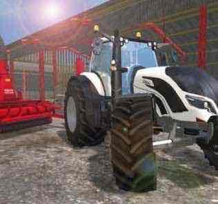 Valtra T4 V 1.0 Tractor Mod for Farming Simulator 15 (FS 15)