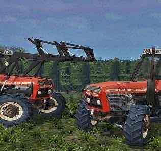 Zetor 8145 Updated Tractor Mod for Farming Simulator 15 (FS 15)
