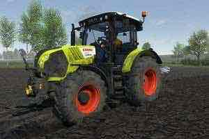 Claas Arion Tractor 530 V 0.1.1 Mod for Cattle and Crops