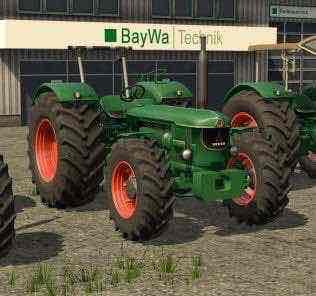 Deutz D13005 Prototyp V1.0.0.0 Mod for Farming Simulator 2017 (FS17)