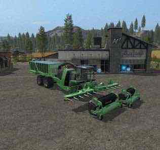 Krone Big X 1100 Cargo V3.0 Mod for Farming Simulator 2017 (FS17)