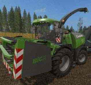 Krone Big X Cutters As Special Edition Mod for Farming Simulator 2017 (FS17)