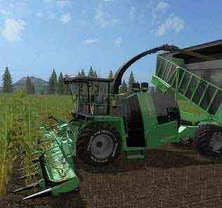 Kronebigxcargo E V3.0 Mod for Farming Simulator 2017 (FS17)