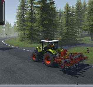 Kverneland Miniair Nova V 1.1 Mod for Cattle and Crops
