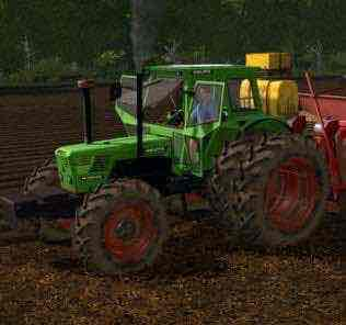 Deutz D8006-13006 V 1.0 Mod for Farming Simulator 2017 (FS17)