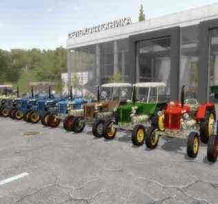 Zetor 25K Mod for Farming Simulator 2017 (FS17)