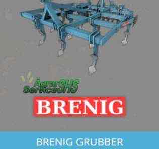 Brenig Cultivator V 1.0 Mod for Farming Simulator 15 (FS 15)