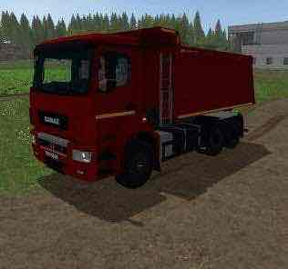 Kamaz 6520 V2.1 Mod for Farming Simulator 2017 (FS17)