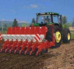 Kverneland Optima V 1.0 Mod for Farming Simulator 15 (FS 15)
