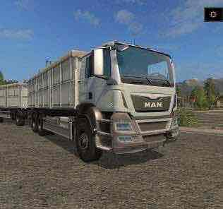 Man Universal Truck V2.0 Mod for Farming Simulator 2017 (FS17)