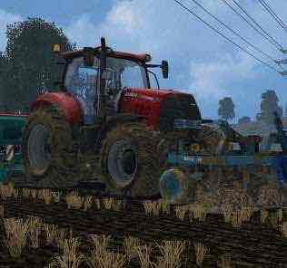 Sulky Tramline Cx300 V 1.0 Mod for Farming Simulator 15 (FS 15)