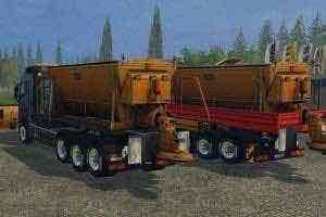 Gritters Truck V 2.0 Ls Mod for Farming Simulator 15 (FS 15)