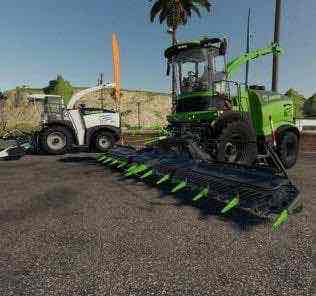 Krone Ernter Mod Pack  V2.0 Mod for Farming Simulator 2019 (FS19)