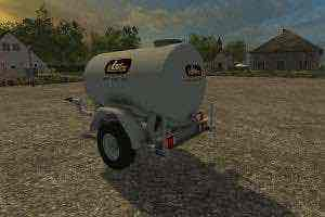 Tonne A Eau V1.0 Mod for Farming Simulator 15 (FS 15)
