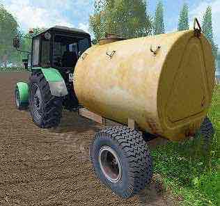 Vuo-3A Water Trailer V1.0 Mod for Farming Simulator 15 (FS 15)
