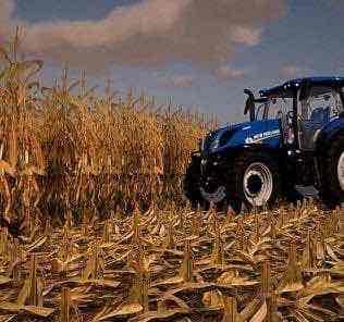 Corn & Beans V2.0 Texture Mod for Farming Simulator 2019 (FS19)