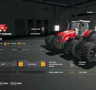 Massey Ferguson 8700 Ve V1.0 Mod for Farming Simulator 2019 (FS19)