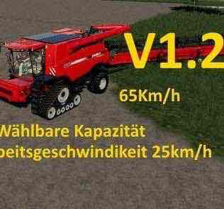 Case Axial 9240 With Capacity Option And Working Speed 25Km/H V1.2 Mod for Farming Simulator 2019 (FS19)