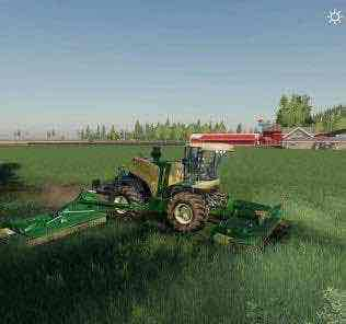 Krone Big M500 Fix V1.0 Mod for Farming Simulator 2019 (FS19)