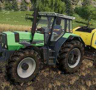 Deutz Agrostar 661 V1.0.0.1 Mod for Farming Simulator 2019 (FS19)