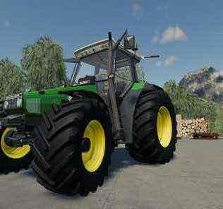 Deutz-Agrostar Clear View With Color Selection V1.0 Mod for Farming Simulator 2019 (FS19)