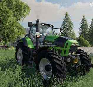 Deutz Agrotron X720 V1.0.0.0 Mod for Farming Simulator 2019 (FS19)