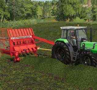 Deutz-Fahr Agrostar Serie 4 V1.0.0.0 Mod for Farming Simulator 2019 (FS19)