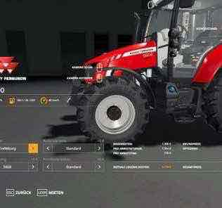 Massey Ferguson 5600 V1.3 Mod for Farming Simulator 2019 (FS19)