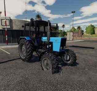 Mtz-82 Tractor V1.0.0.0 Mod for Farming Simulator 2019 (FS19)